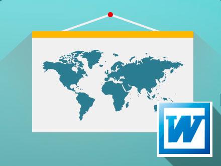 Как разделить страницу в MS Word на 2 части