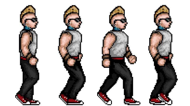 Рисуем персонажа в стиле 16-bit в photoshop