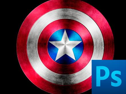 Рисуем щит капитана Америка (Photoshop)