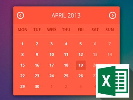 Как посчитать разницу между датам в MS Excel
