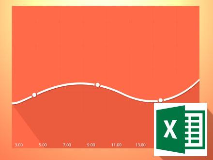 Как построить в MS Excel простейший график