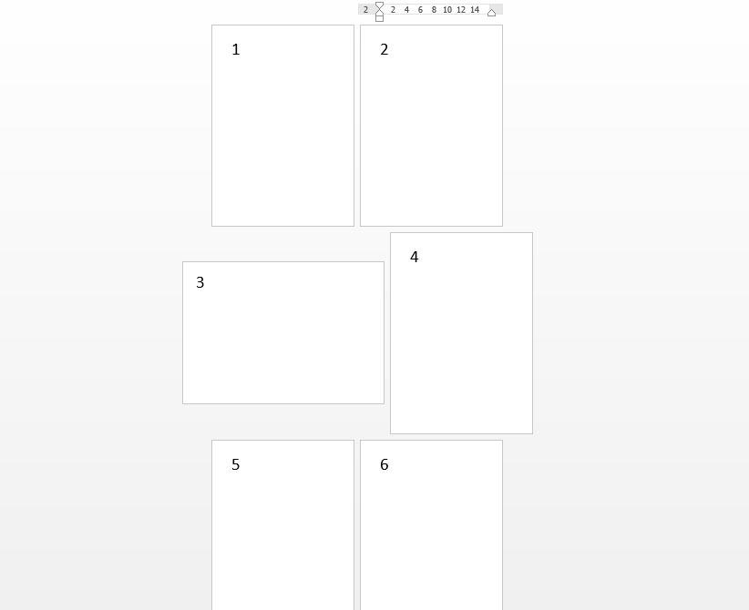 страницы нашего word-документа имеют разную ориентацию