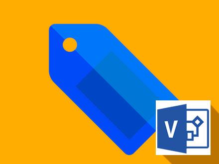 Изменение масштаба рабочей области в MS Visio