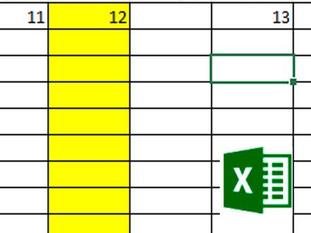 Разделение окна табличного документа MS Excel на две или четыре части
