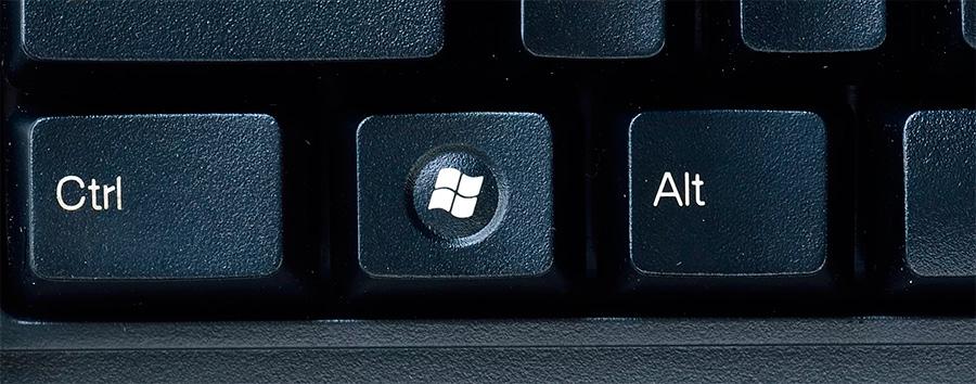 Кнопка Windows на клавиатуре. Сочетание Win+L позволит вам заблокировать компьютер