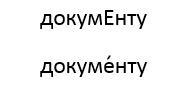 Как поставить ударение над буквой в MS Word